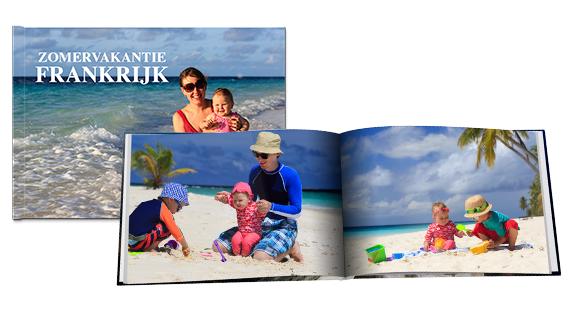 Fotoboek A4 Hardcover Liggend