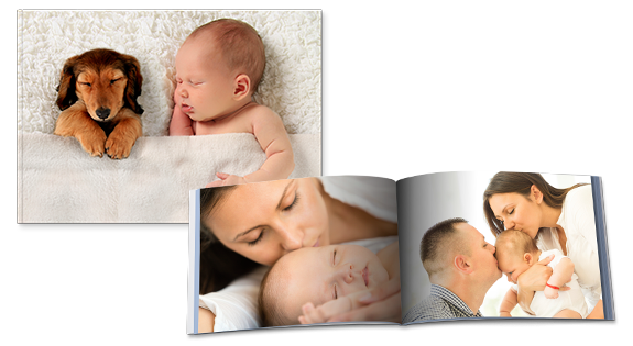Fotoboek A5 Softcover Liggend
