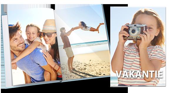 Fotoboek van een vakantie